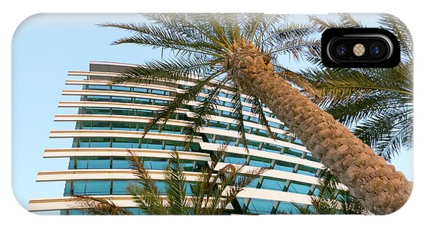 IPhone Case featuring the photograph Palms Of Dubai by SR Green