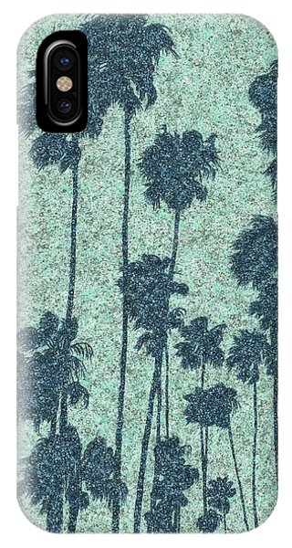 Palms Over Palisades No. 2 IPhone Case