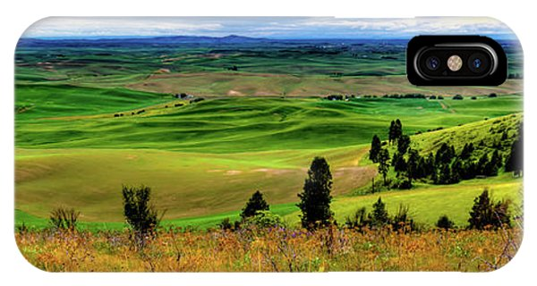 iPhone Case - Palouse Hills From The Butte by David Patterson