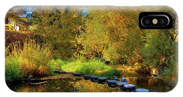IPhone Case featuring the photograph Palouse River Reflections by David Patterson