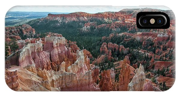 Panorama  From The Rim, Bryce Canyon  IPhone Case