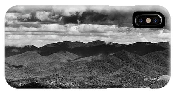 White Mountains iPhone Case - Panorama Melodrama by Jorgo Photography - Wall Art Gallery