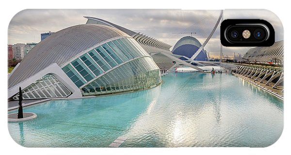 Panoramic Cinema In The City Of Sciences Of Valencia, Spain, Vis IPhone Case