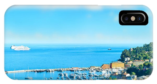 Panoramic View  With Tilt-shift Effect Phone Case by Liligraphie