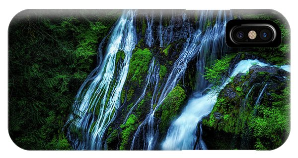 Panther Creek Falls IPhone Case