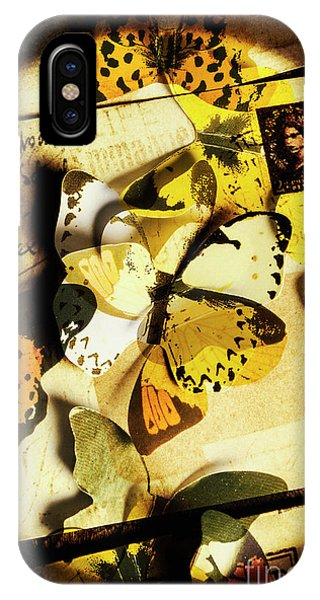 Ink iPhone Case - Paper Wings And Inked Out Notes by Jorgo Photography - Wall Art Gallery