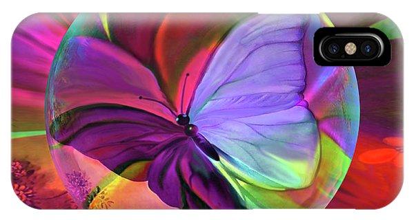 Papillon De  Grace IPhone Case