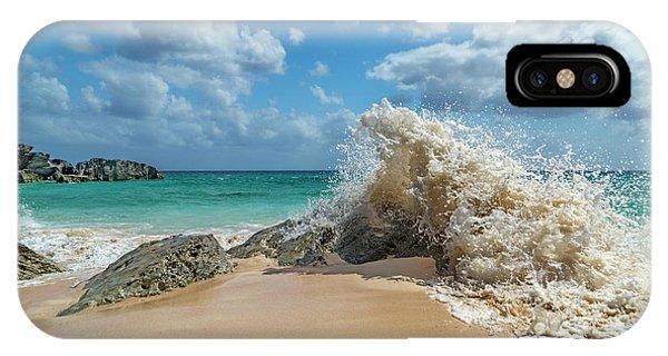 Carribbean iPhone Case - Paradise Beach Splash by Betsy Knapp