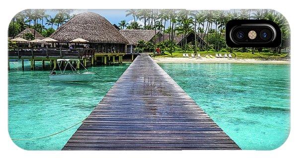 Rangiroa, Tuamotu - Paradise On Earth IPhone Case