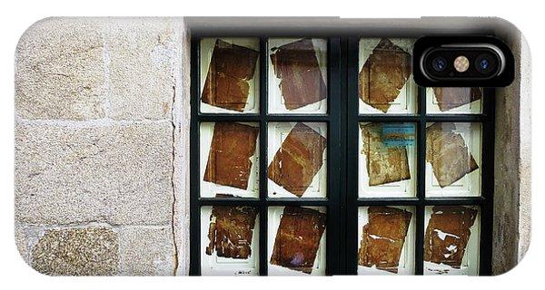 Parchment Panes IPhone Case