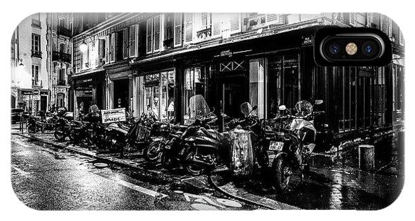 Paris At Night - Rue Jacob IPhone Case