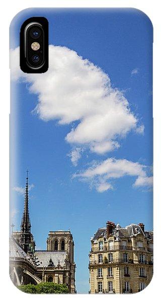 IPhone Case featuring the photograph Paris Ile De La Cite by Melanie Alexandra Price