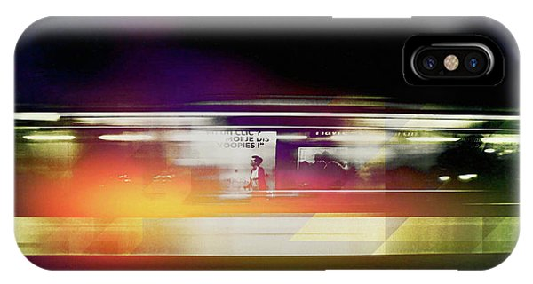 IPhone Case featuring the photograph Paris Metro by Susan Maxwell Schmidt