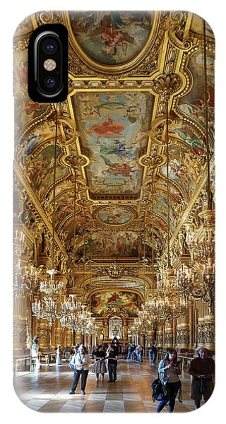 IPhone Case featuring the photograph Paris Opera by Jim Mathis