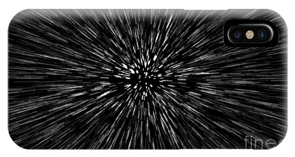 Light Speed iPhone Case - Particle Or Space Traveling. Particle by Aperture75