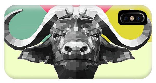 Lynx iPhone Case - Party Buffalo by Naxart Studio
