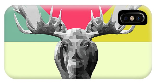 Lynx iPhone Case - Party Moose by Naxart Studio