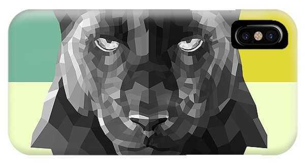 Lynx iPhone Case - Party Panther by Naxart Studio