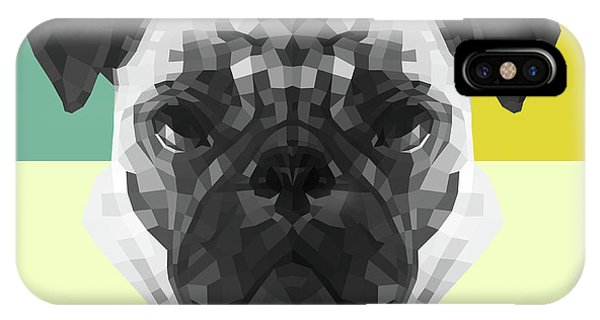 Lynx iPhone Case - Party Pug by Naxart Studio