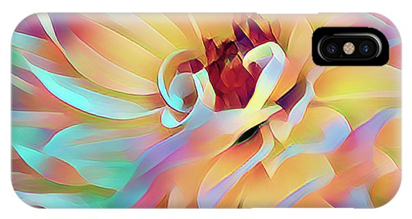 Party Time Dahlia Abstract IPhone Case