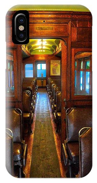 Passenger Train Memories IPhone Case