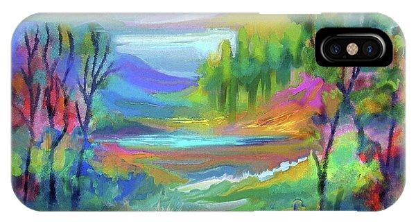 Pastel Landscape IPhone Case