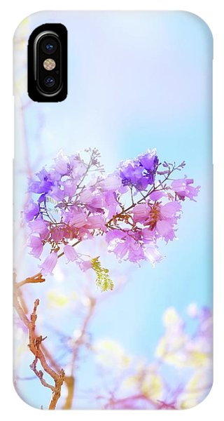 Petals iPhone Case - Pastels In The Sky by Az Jackson