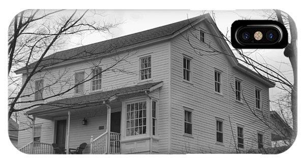Pastors House - Waterloo Village IPhone Case