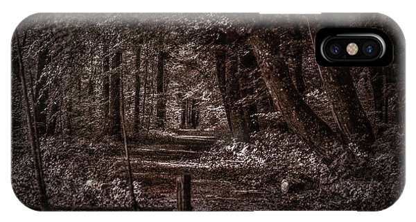 Path In Forest #i0 IPhone Case