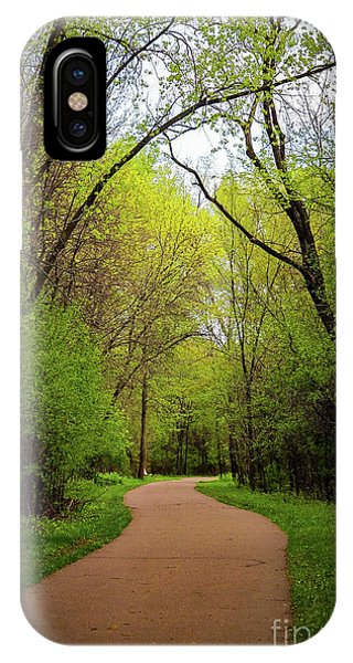 Path In The Forest IPhone Case