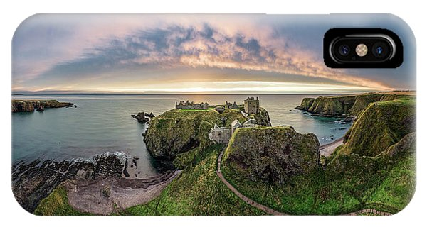 Imposing iPhone Case - Path To Dunnottar Castle by Dave Bowman