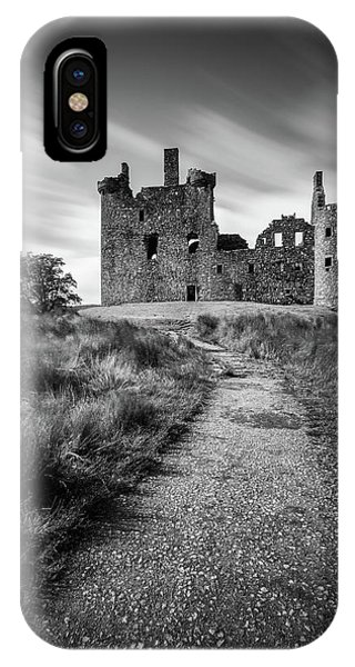 Medieval iPhone Case - Path To Kilchurn Castle by Dave Bowman