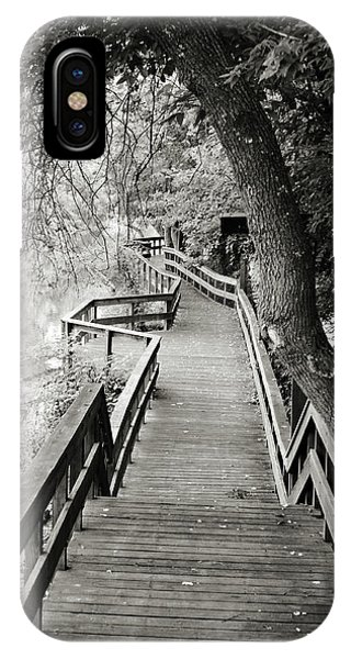 IPhone Case featuring the photograph Pathway by Michelle Wermuth