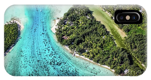 Bora Bora - Pathway To The Ocean IPhone Case