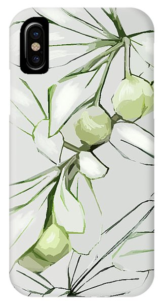 Patio Print IPhone Case