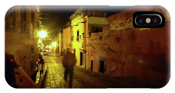 IPhone Case featuring the photograph Patzcuaro Street by Rosanne Licciardi