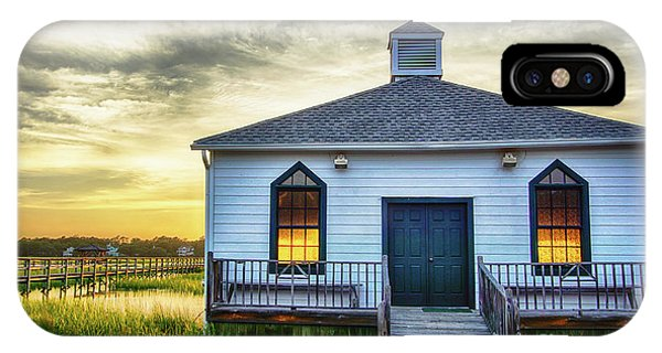 Tidal Marsh iPhone Case - Pawleys Island Chapel by DiFigiano Photography