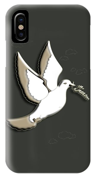 iPhone Case - Peace Among The Clouds by Cynthia Leaphart