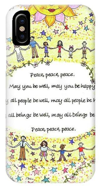 Peace, Peace, Peace IPhone Case