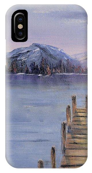Peaceful Cattails IPhone Case