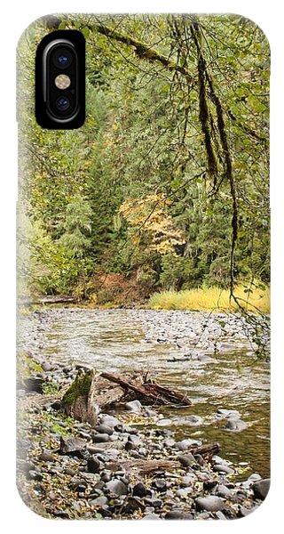 Peaceful Molalla River IPhone Case