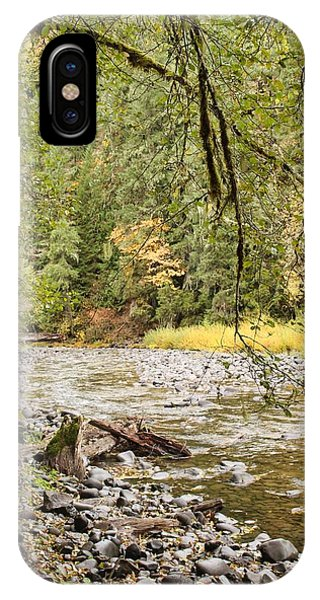 IPhone Case featuring the photograph Peaceful Molalla River by Brian Eberly