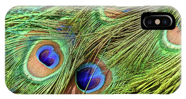 Peafowl iPhone Case - Peacock Feathers by Delphimages Photo Creations