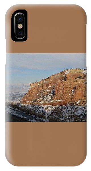 Peak-a-boo Canyon IPhone Case