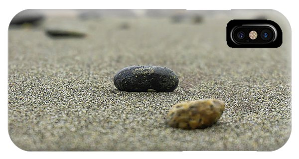 Pebbles On The Beach IPhone Case