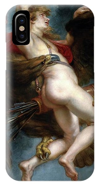 Gateway Arch iPhone Case - Pedro Pablo Rubens / 'the Rape Of Ganymede', 1636-1637, Flemish School, Oil On Canvas. by Peter Paul Rubens -1577-1640-