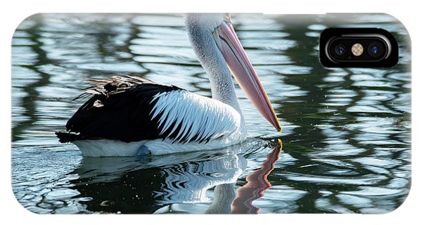 Pelican On The Lake IPhone Case