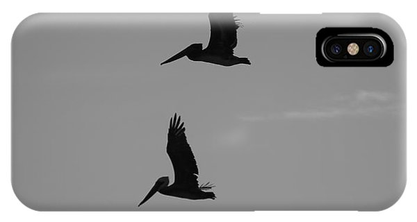 IPhone Case featuring the photograph Pelican Silhouette  by Jeni Gray