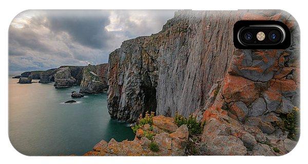 Cauldron iPhone Case - Pembrokeshire - Wales by Joana Kruse