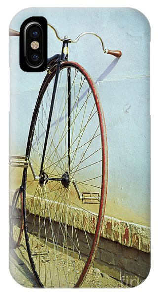 Background iPhone Case - Penny Farthing ,high by Unclepepin